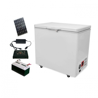 208L 12/24V DC Off Grid Solar  Chest Freezer