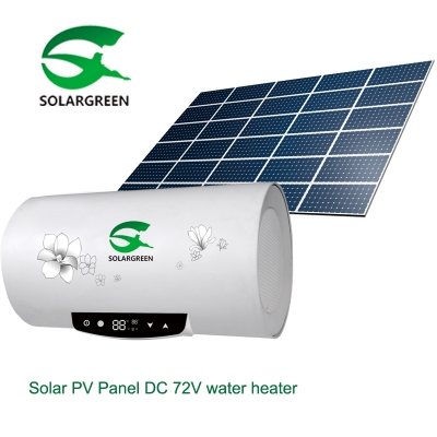 40L-100L equal 100L-300L Solar 72V  DC  Photovoltaic Water heater
